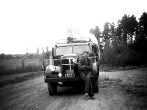 Lastat säd i Yttre Enhörna, 1954