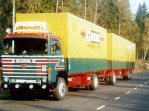 Scania 141, mitten 80-talet